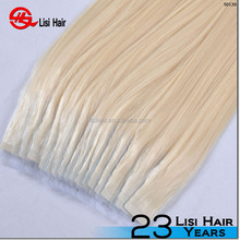 Wholesale price adhesive 100% virgin hot sale tape hair extensions remy
