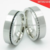 Titanium engagement rings ,Timeless style couple love engagement rings
