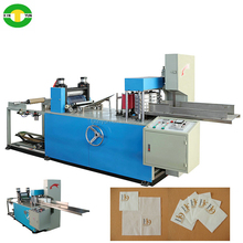 hot sell napkin paper 1/8 folding and counting serviette papaer machine