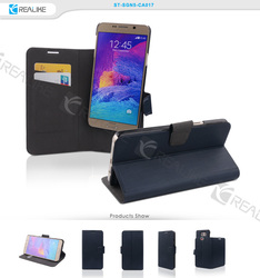 Detachable wallet leather mobile phone case for samsung phone