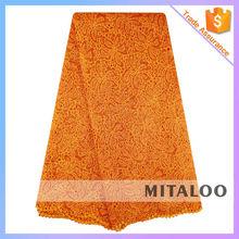 Mitaloo MCP0068 Beautiful Guipure Embroidery Lace Fabric For Wedding