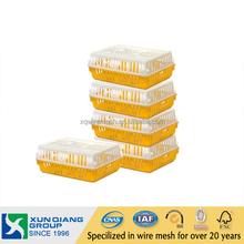 true HDPE % plastic chicken transport cage , strong poultry transport crates, chicken cage,