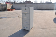 metal KD structure timed lock safe box and fire proof file cabinet