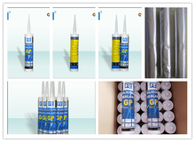 bad weathering resistance GP silicone sealant , silicone tube for building glass marble tile and stone