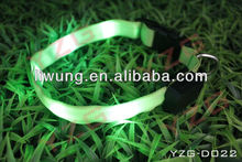 flashing led pet collar for dog