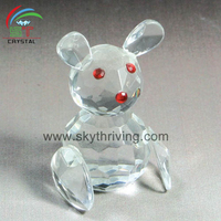 crystal rabbit for wedding