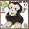 Playful plush mini monkeys for sale with big face
