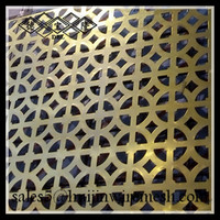 perforated metal panel used for facade curtain wall/sun screen