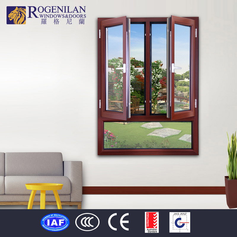 Rogenilan Blind Inside Double Glass Window Design French