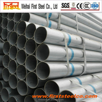 Hot sell high quality galvanized steel water pipe specification