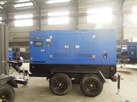 200KW diesel power moveable type generator
