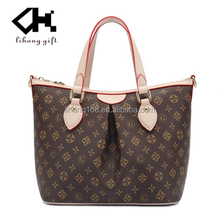 2015 Direct buy from China supplier lady handbag women handbag genuine leather handbag