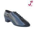 Zapatos de tacón bajo para baile de hombre M-3005