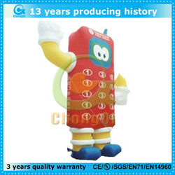 giant inflatable cell phones model