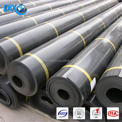 Driveway Rubber Mats HDPE geomembrane damp proof material