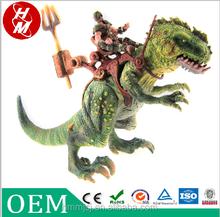 PVC hero and tyrannosaurus oem, child toy