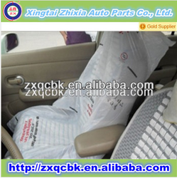 manufacturing various cheap price universal car seat covers/disposable PE car seat cover