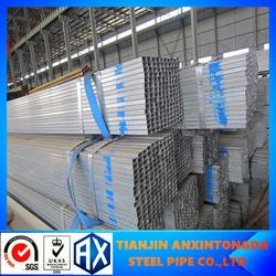 galvanized square steel fence post!40*40 weight ms square pipe!galvanized steel square/rectangular pipe