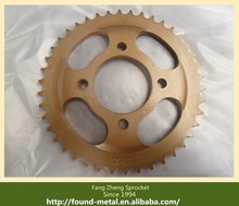 Heat Treated 45# Steel GN125 Motorcycle Chain Sprocket Kit