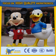 Famous Fiberglass Static Cartoon Characters,Cartoon Statues for Sale