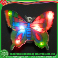 Verious Colors Rubber Led Flashing Christmas Pins Wholesales