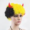 Halloween hair Halloween wig toiletries performance Ox horn straight hair