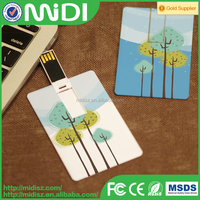 OEM high quality promotional gift business card usb flash drive no case 2015