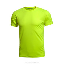2015 Good quality polyester gym t shirt/running t shirt