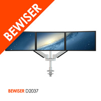 Flexible LCD Surface Mount lcd Monitor For Used Construction With Multi 3 Monitor Stand