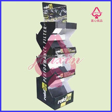 Paper Cardboard Display Shelves Stand For Shoes Book Toys Etc