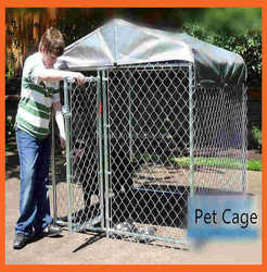 Fencing Dog Box Used Plastic Kennel Portable