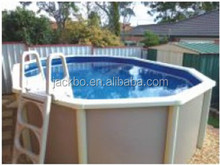 Europe Style small Steel Wall Swimming Pool for Villa with Swimming Pool Equipment Filter