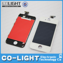 Large stock supply lcd for iphone 4s, for iphone 4g/4s lcd screen, for iphone 4s screen with free DHL shipping