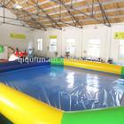 maior piscina inflável piscina inflável personalizado