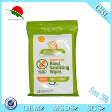 Restaurant single piece tissue wipe/antibacterial/moisturizing/OEM/car/shoes/hand/face/kitchen/baby/house hold/flushable wipes
