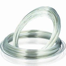 electrical solid sterling silver wire for low and high voltage electrical devices