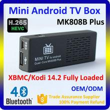 MK808B Plus Mini Android TV Box, Set Top Box Support Google Play & APK Install