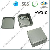 Square Small Aluminum Waterproof Box