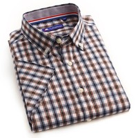 wholesale price top selling bamboo fabric plaid button down latest formal shirt designs for men