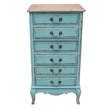 Best Seller Tall Thin Drawers Table Solid Oak Storage Cabinet