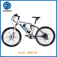 full suspension mountain electric bicycle with mid drive 250w/full suspension e bike/electric bikes/e-bikes/electric bicycles