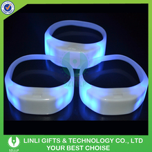 Concert Favor Silicone Wireless LED Controller Wristband