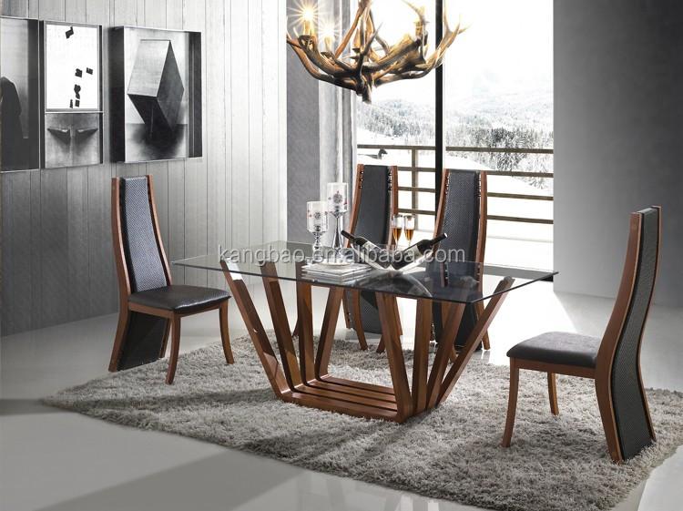 Muebles kangbao uso doméstico mesa comedor y sillas mesa comedor ...