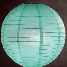Eco-friendly wire frame various size muti-colorful wedding round paper lantern
