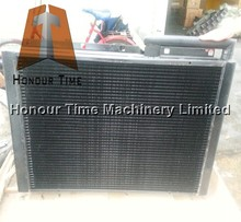Hydraulic oil cooler for excavator EX300-1 hydraulic oil cooler coppering