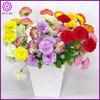 Five Branches With Fifteen Heads Artificial Chiffon Carnation Flower