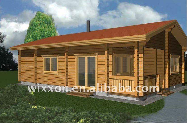 Simple pr fabriqu e villa en bois maisons pr fabriqu es id - Maisons prefabriquees en bois ...