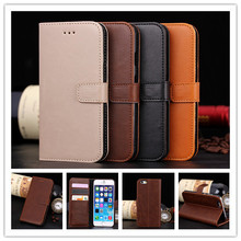 Luxury PU Leather Flip Case For Apple for iphone 6 6g 4.7inch Phone Cover Cases With Wallet Stand Function