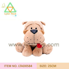hand made fashion plush catoon dog toy for kids with good price