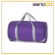 New product 2015 polyester round bag travel, sport duffel bags made in china